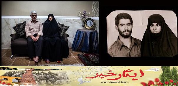 سکینه حورسی از زنان مدافع خرمشهر به همرزمان شهیدش پیوست